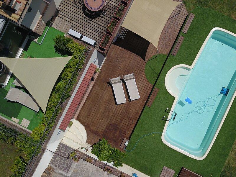 Villa Sole Marche Exclusive Pool Jacuzzi Parking, vacation rental in Angeli Stazione