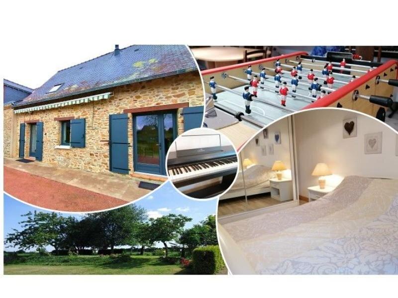 La Rouaudière, casa vacanza a Erbray