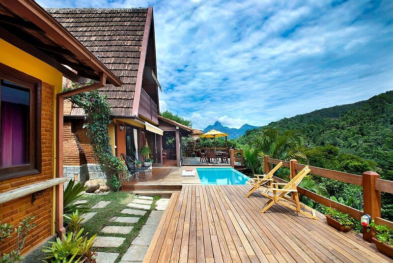 Casa Serrana, 4 quartos em meio à Natureza de Itaipava, location de vacances à Araras