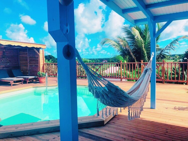 La Kaz'a Mila Bungalow Hibiscus, alquiler de vacaciones en Anse-Bertrand