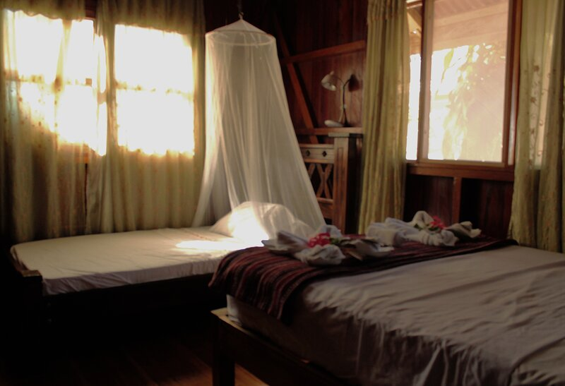 Triple basic room with shared areas and shared bathroom, location de vacances à Parc national du Corcovado
