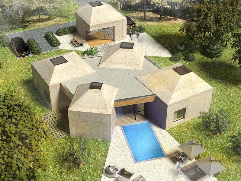 Unique Design Villa Doris, alquiler vacacional en Umag