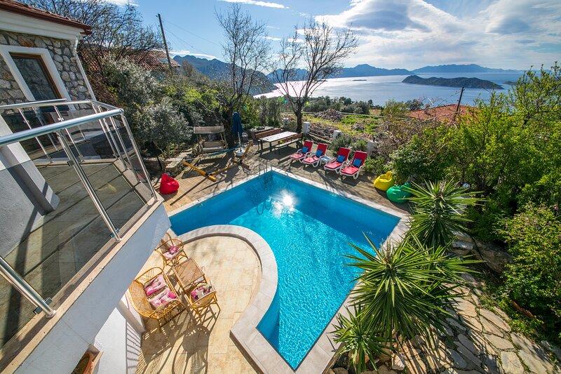 Villa Sunset Sogut Village Daily Weekly Rentals, holiday rental in Sogut