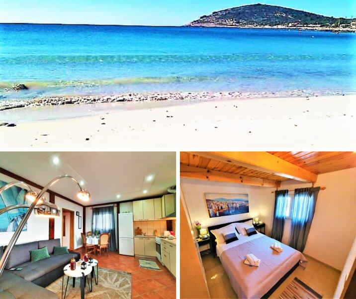 Escape holiday house, island Drvenik Mali, Trogir, Robinson's way, holiday rental in Drvenik Mali