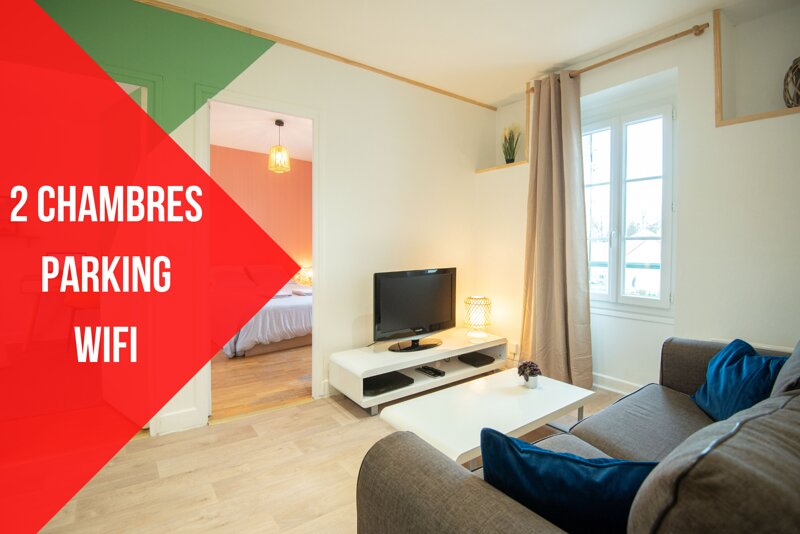 ★NOUVEAU★APPOIGNY★2 CHAMBRES★PARKING★JARDIN, holiday rental in Joigny