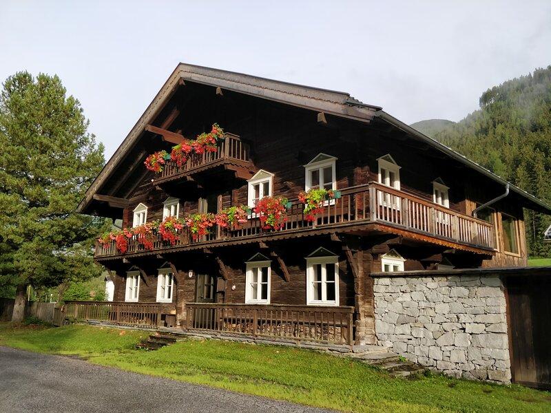 Haus EVEN für bis zu 7 Personen in der Wohnung 'Erholung'!, holiday rental in Virgen