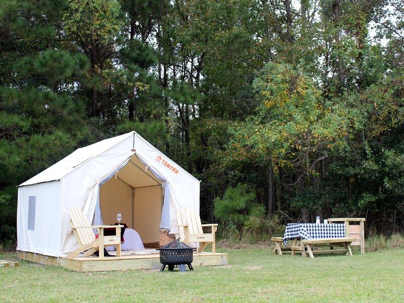 Tentrr State Park Site - Fontainebleau State Park Site A, casa vacanza a Mandeville