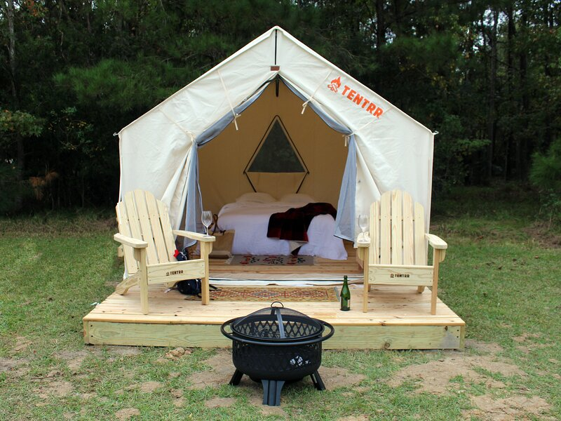 Tentrr State Park Site - Fontainebleau State Park Site B, casa vacanza a Mandeville