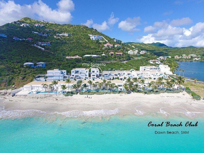 CORAL BEACH CLUB 9 - SORRENTO -...2 BR villa * Coral Beach Club on Dawn Beach, holiday rental in Oyster Pond