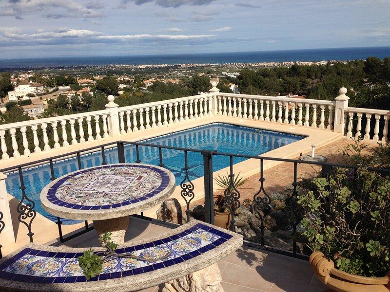 Villa TORRE DE LA LUNA in Denia, Marquesa V., vacation rental in Muntanya la Sella
