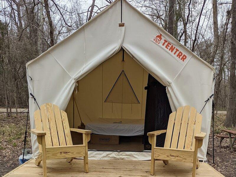 Tentrr State Park Site - Jimmie Davis State Park Site F, alquiler de vacaciones en Jonesboro