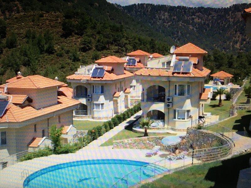 Lakeside Villa Unlimited free WiFi / internet English tv, alquiler vacacional en Dalaman