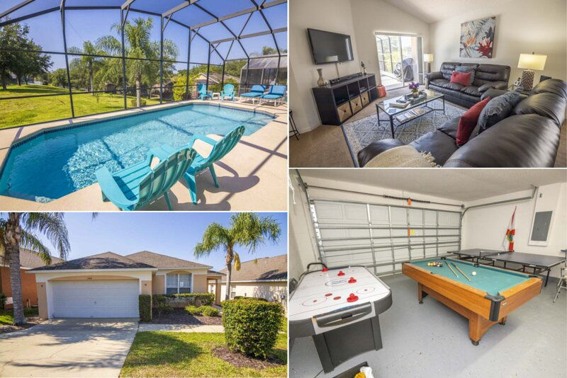 Southern Dunes Home With South Facing Pool!, alquiler vacacional en Lake Alfred
