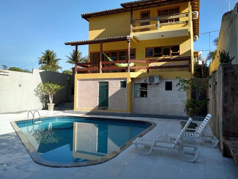 Casa c wifi e lazer perto da praia em Porto Seguro, vacation rental in Santa Cruz Cabralia