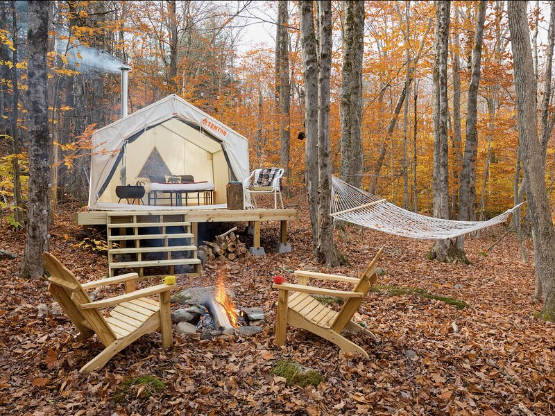 Tentrr Signature Site - Camping in the Woods of the Berkshires, holiday rental in Monterey