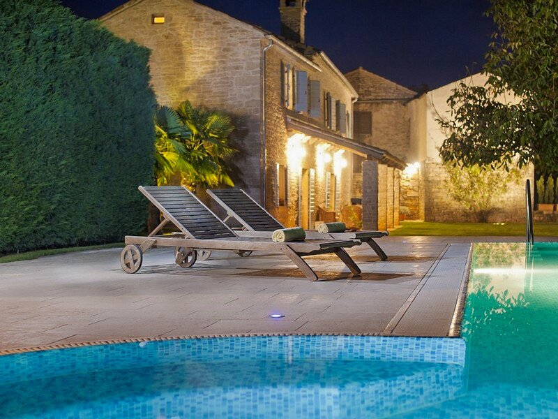 Stone Villa Castela, in Istria, with a Pool, holiday rental in Beram