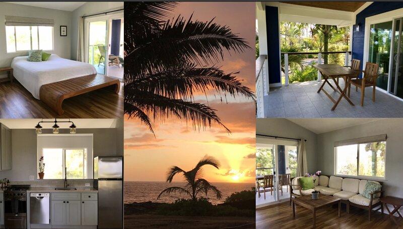 the Cliff House: Paradise Suite, aluguéis de temporada em Keaau