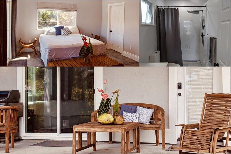 the Cliff House: Ocean Suite, casa vacanza a Keaau