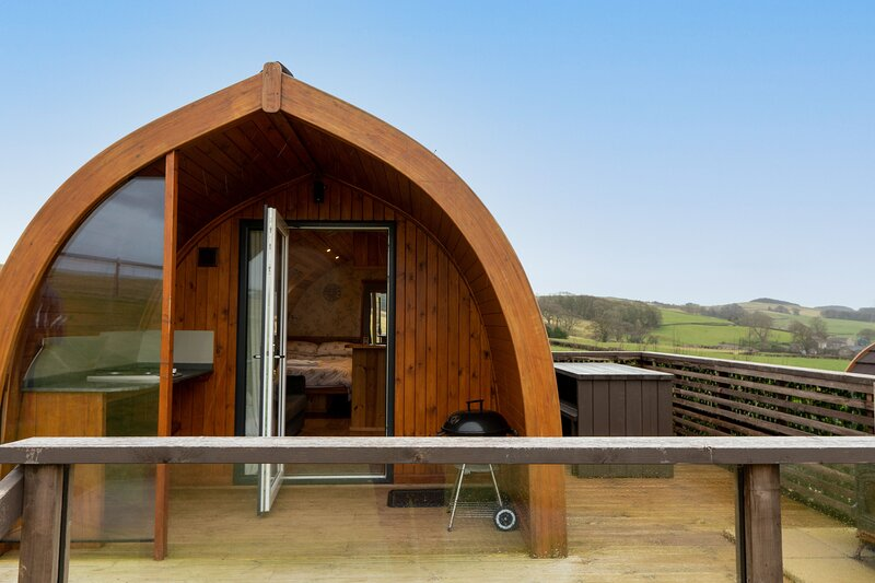 Hare Meadow Pod, holiday rental in Burton-in-Kendal