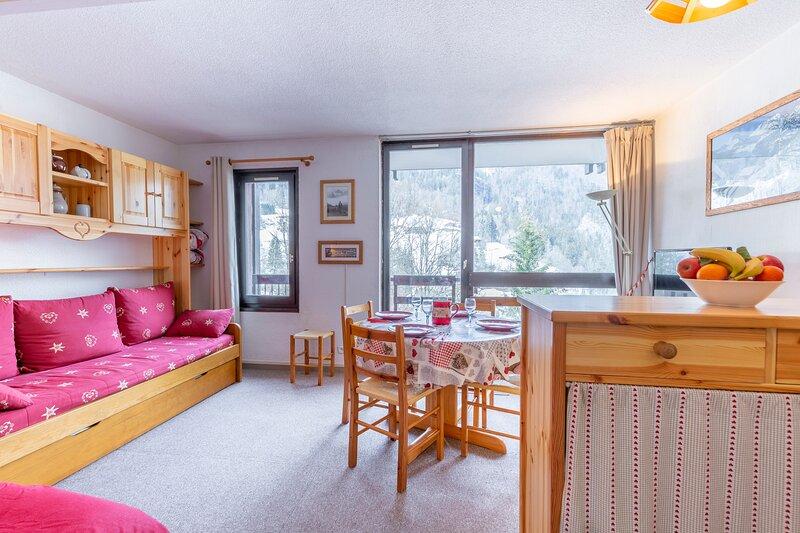 Le Flocon - Studio cosy vue montagne -Val d'Arly, aluguéis de temporada em Saint-Nicolas-la-Chapelle