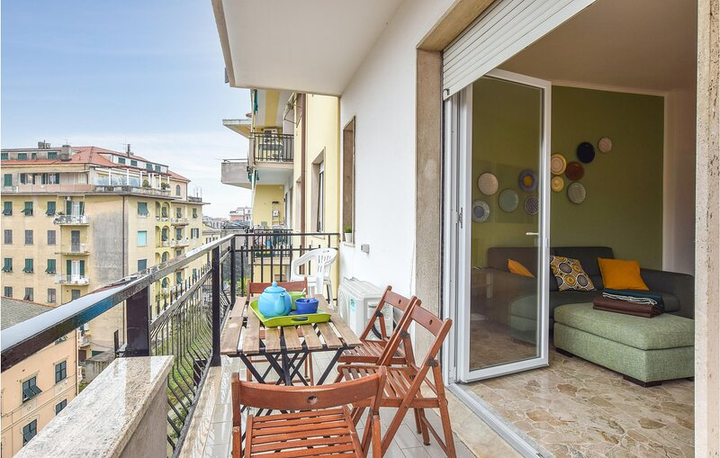Amazing apartment in Chiavari with WiFi and 2 Bedrooms (ILL816), vacation rental in Leivi
