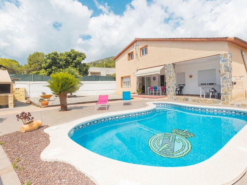 Las Palmeras, vacation rental in Canyelles