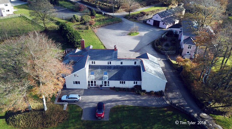 Large family holiday rental home on Exmoor, holiday rental in Withypool