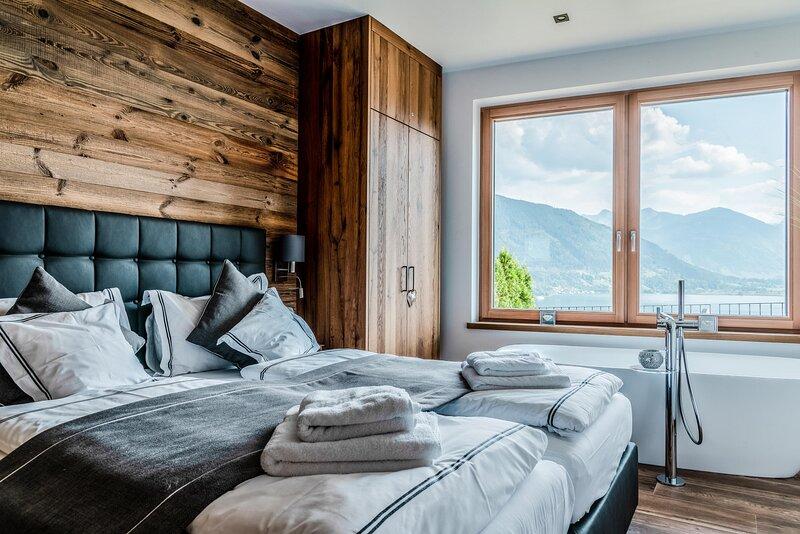 Adlerhorst - Superior Apartment with sauna, location de vacances à Maishofen