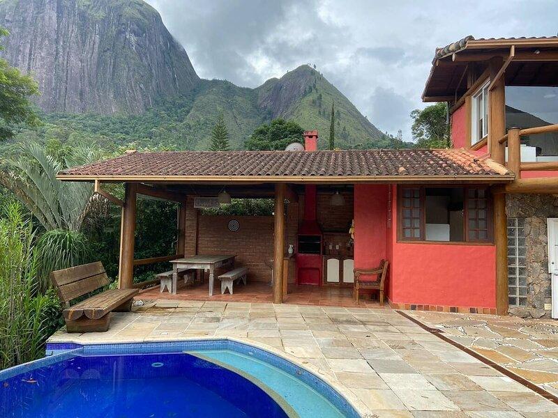 Casa Maria Comprida em Araras com 4 quartos, piscina e área gourmet, location de vacances à Araras