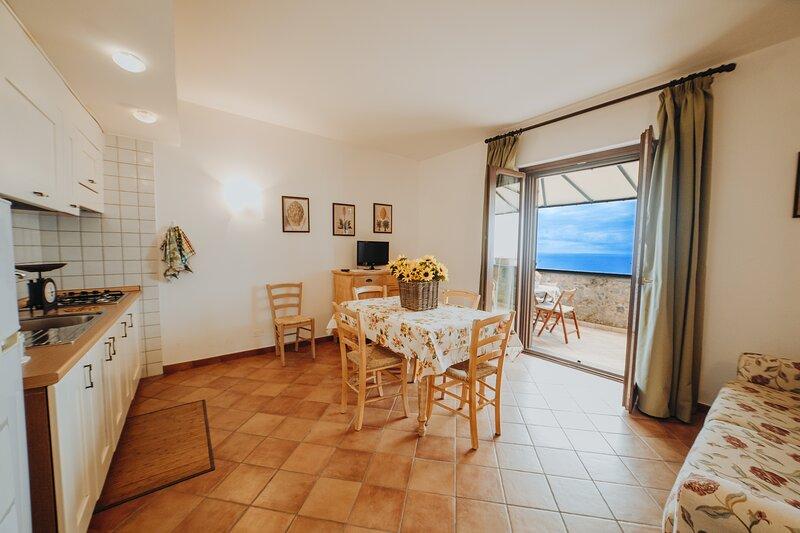 Bilocale 6 - Residenza Golfo Degli Ulivi, holiday rental in Marina di Pisciotta