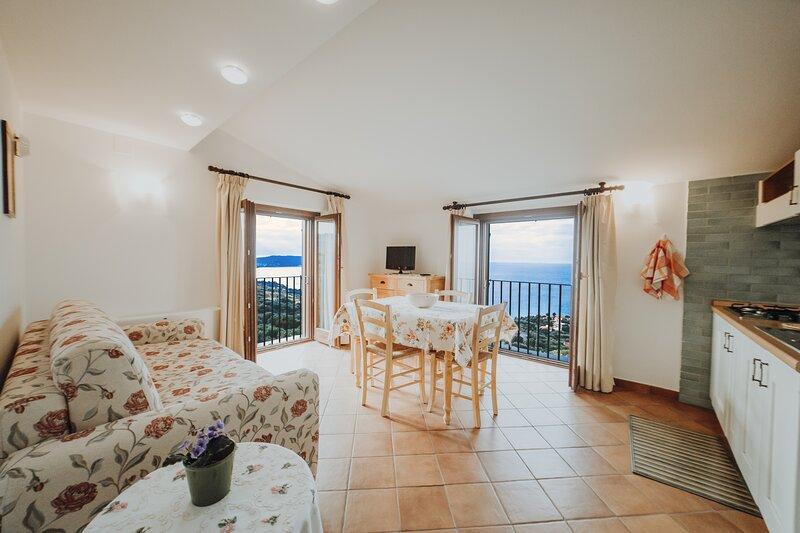 Bilocale 8 - Residenza Golfo Degli Ulivi, holiday rental in Marina di Pisciotta