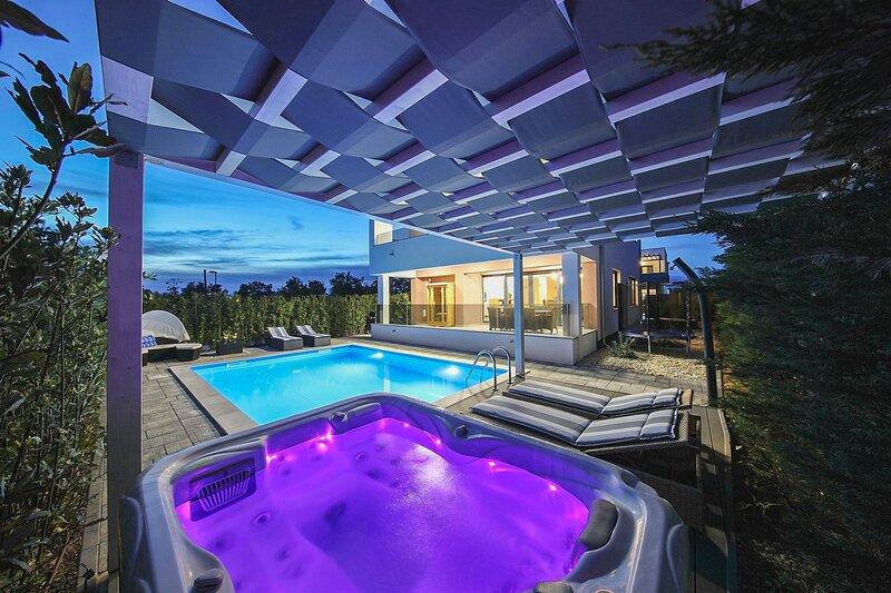 Modern Villa Angelina, in Dalmatia, with a Pool, location de vacances à Zaton