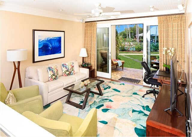 Villa 109: Garden View Turtle Bay Beachfront, holiday rental in Kawela Bay