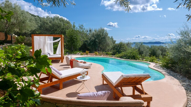 Special Monthly Rates for Sea Access - Luxury Villa Agapi - Amapola Villas, holiday rental in Lefkada