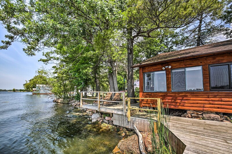 Private Island with Land Access - 1000 Islands / Chippewa Bay, holiday rental in Morristown
