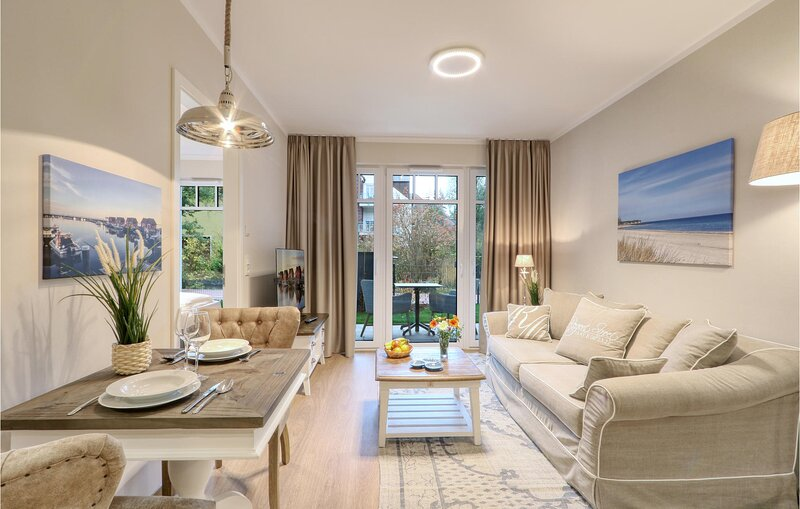 Nice apartment in Ostseebad Boltenhagen with Sauna, WiFi and 1 Bedrooms (DMK803), holiday rental in Tarnewitz