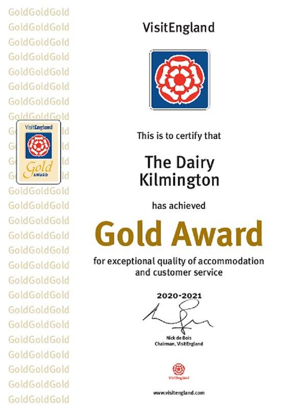 4 Star Gold Award