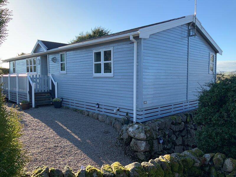 Cosy wooden lodge in Kippford, Dalbeattie, casa vacanza a Rockcliffe