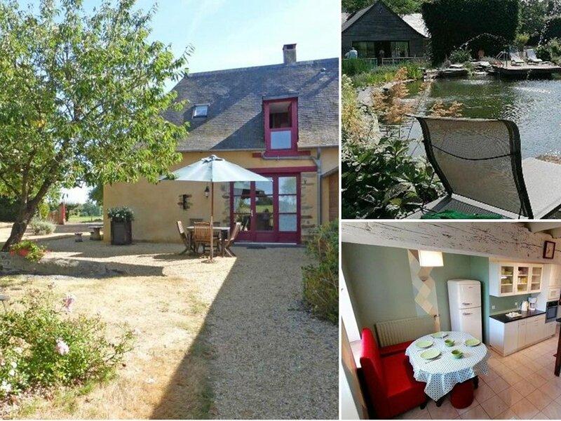 Gite des Mazures, holiday rental in Martigne-Ferchaud