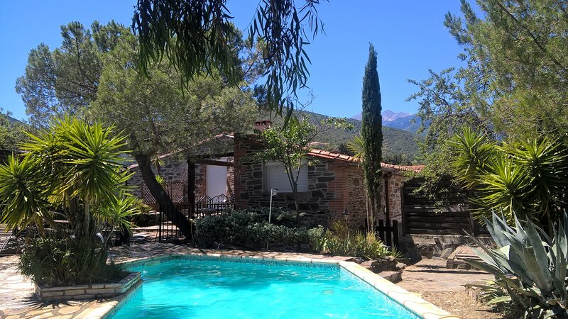 MAS MONTEBELLO 5 ROOMS - PRIVATE POOL & SPA, holiday rental in Vinca