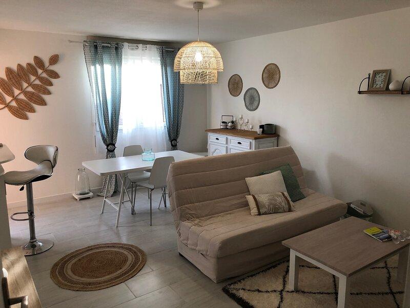 Appartement cosy avec jardin à Blagnac, location de vacances à Beauzelle