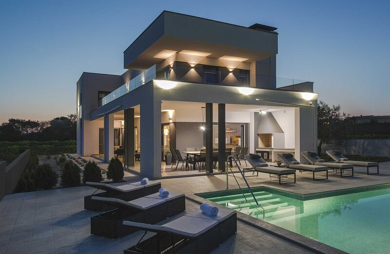 Villa Graziosa with Pool, holiday rental in Skatari