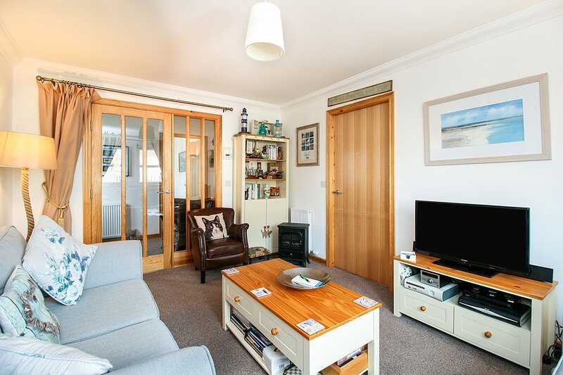 Inviting 2-Bed Apartment in Anstruther, holiday rental in Cellardyke
