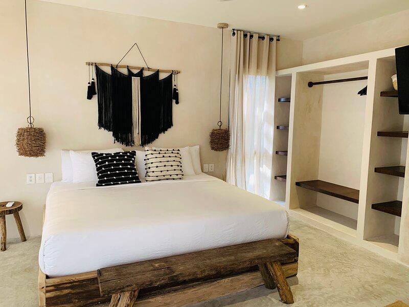 Luxury Boho Apartment 9 Vida Tulum, alquiler de vacaciones en Macario Gómez