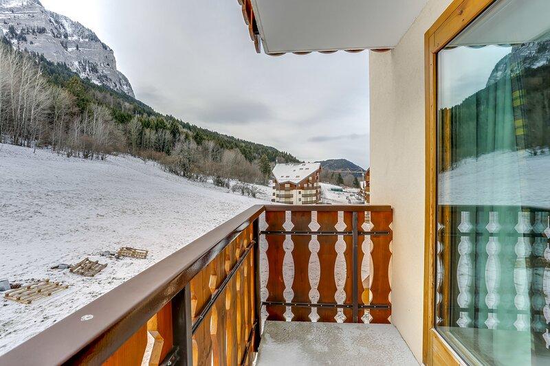 Apartment with mountain view – semesterbostad i Thollon-les-Memises