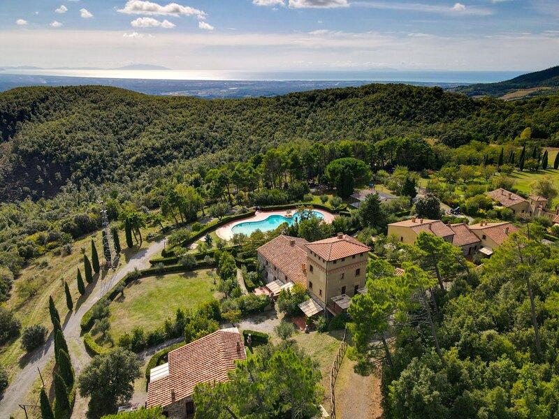 Daino, holiday rental in Riparbella