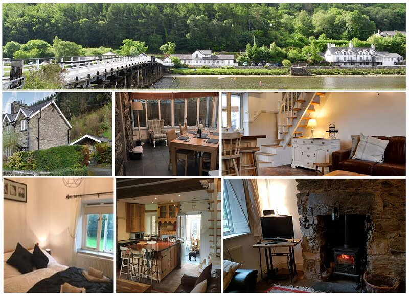 Pen Glan Cottage - dog friendly holiday cottage for 2-4 in Snowdonia, holiday rental in Penmaenpool
