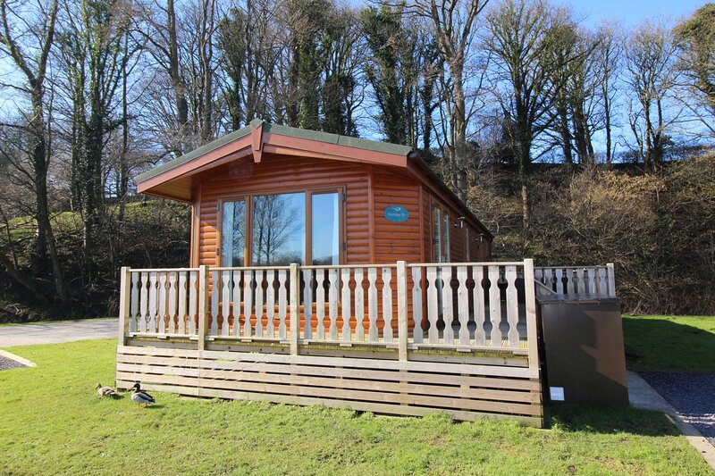 2 bed Luxury holiday lodge