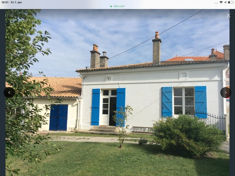 Family House near the sea and Medoc vineyards, location de vacances à Talais