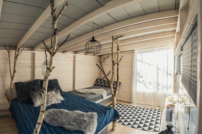 Miera Osta Birch Tree House, alquiler de vacaciones en Letonia